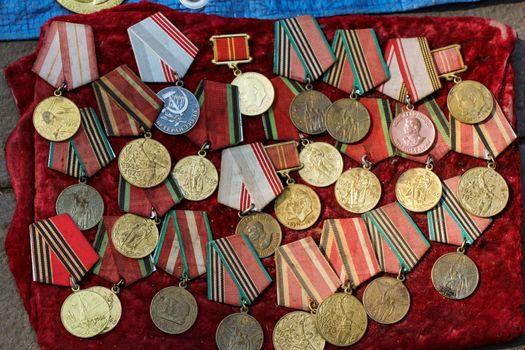 Veteran medals from Georgia