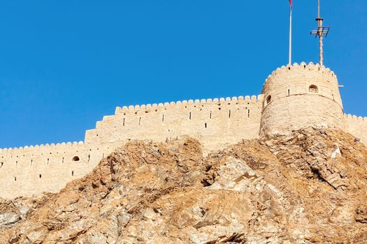 Fort Muttrah in Muscat, the capital of Oman