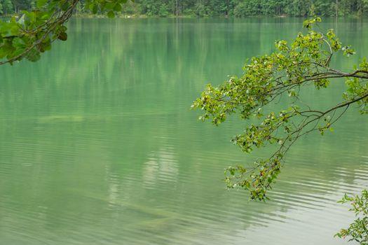 Beautiful lake in Austria, Gleinkersee in Austria