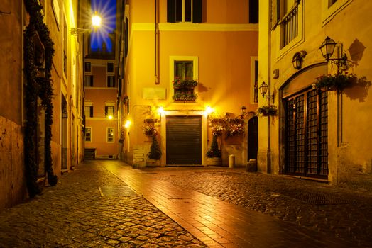 Old street of Rome