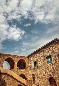 Beautiful ancient monastery