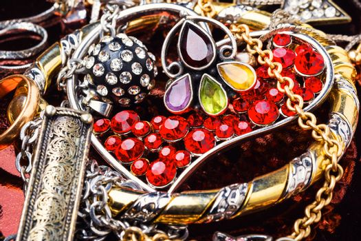 Jewellery collections and bijouterie