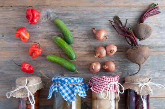 Naturally fermented food jars