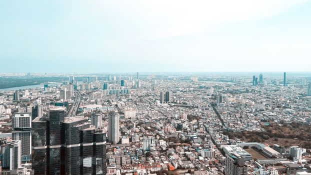 View of Bangkok city