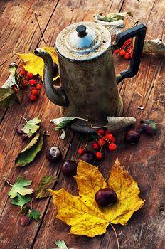 Symbolic autumn tea