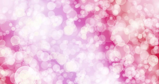 Red Pink Background.Bokeh Red Pink Background.