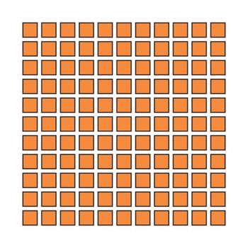 Unreal and hypnotic optical illusion. Creative trick and nystagmus vector illustration.