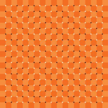 Spin, motion and optical illusion. Vector illustration of impossible shapes.
