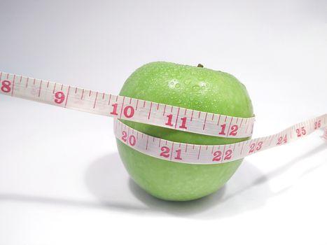 Dieting Green Apple