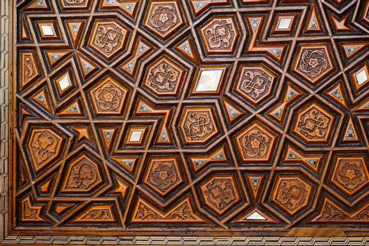 Fine example of Ottoman art patterns in view