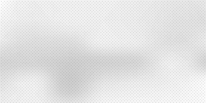 Abstract white blurred background with black dots pattern. Vector illustration