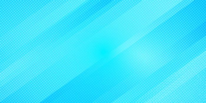 Abstract blue gradient color oblique lines stripes background and dots texture halftone style. Geometric minimal pattern modern sleek texture. Vector illustration