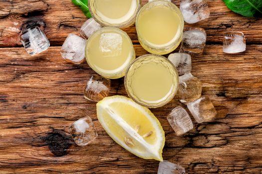 Lemoncello,Italian lemon liquor