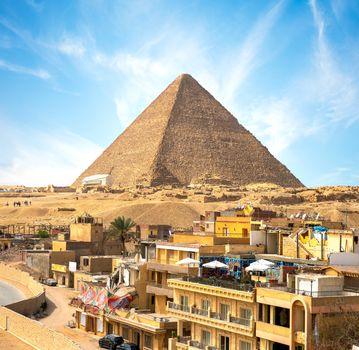 Giza city In Pyramid