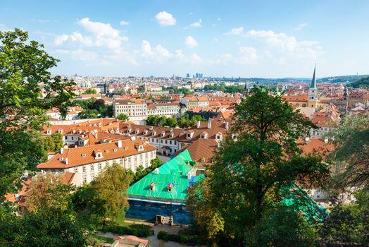 View on Prague