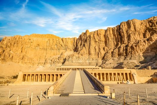 View of Hatshepsut
