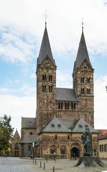 Fritzlar Cathedral was built in late Romanesque style from 1120 to 1230, Germany