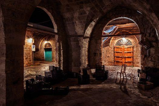 Old arabic architecture