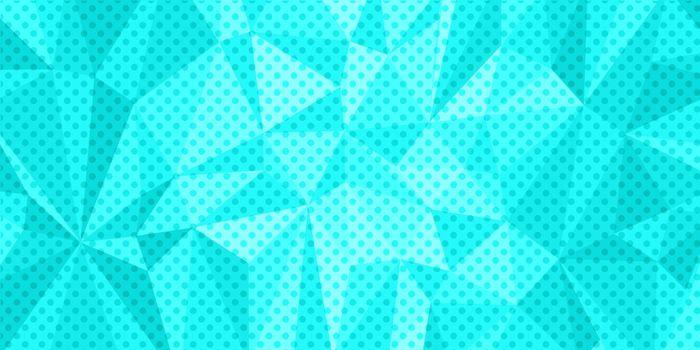 turquoise triangle background