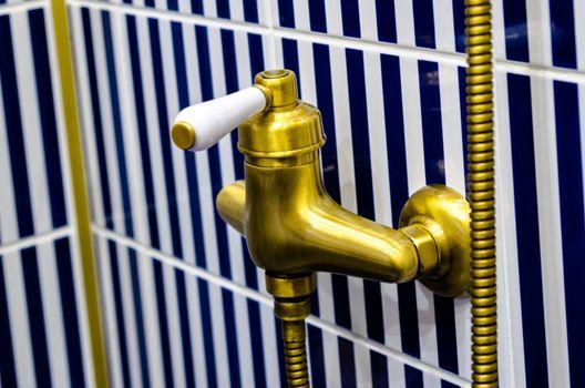 toilet equipment, background tile combinations