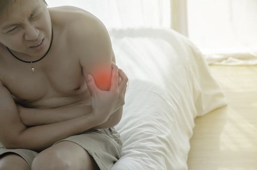 Asian men are not comfortable with pain.