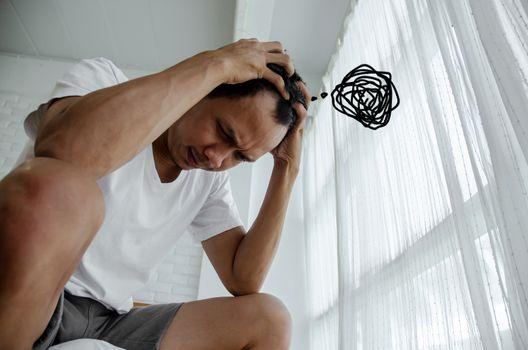 Men are stressed.