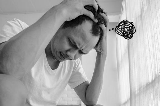 Men are stressed