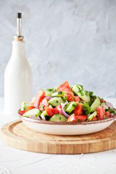 Bowl Of Lebanese Salad