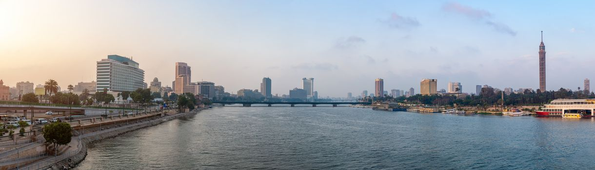 Nile River view of Cairo