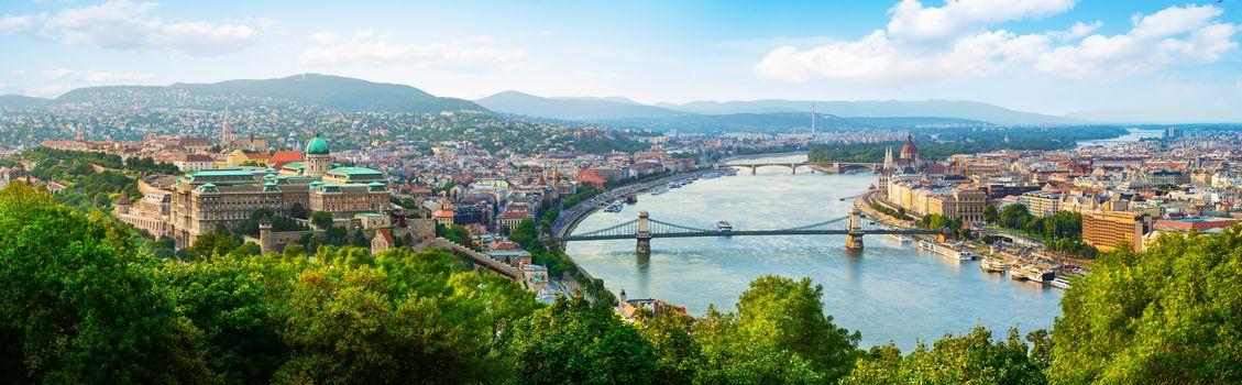 Panoramic of Budapest