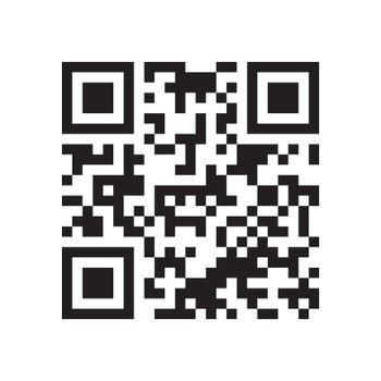 QR code. Abstract Vector modern bar code sample for smartphone scanning isolated on white background. Data encryption.
