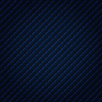 Abstract black and blue subtle lattice square pattern background and texture. Luxury style. Repeat geometric grid. vector illustration