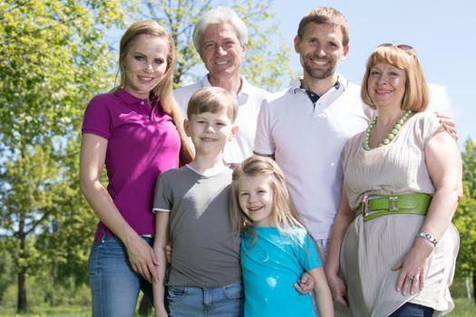 Multi generation family