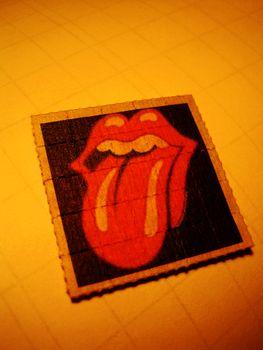 Rolling Stones sticker lsd tongue background fine art wallpaper