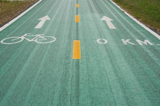 Green bike lanes Healthy Lifestyle