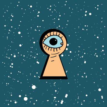 keyhole black hole