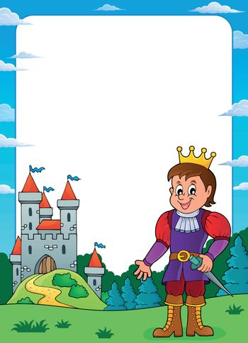 Prince and castle theme frame 3