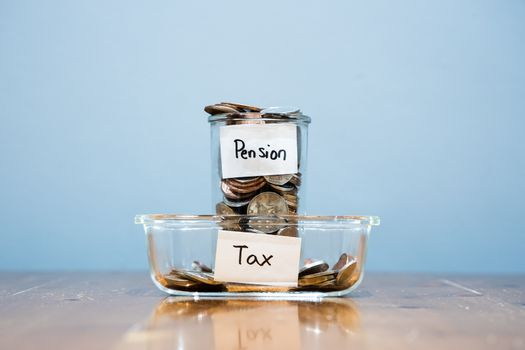 Pay More High Tax on  Pension Savings