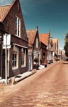 Beautiful little houses of Edam