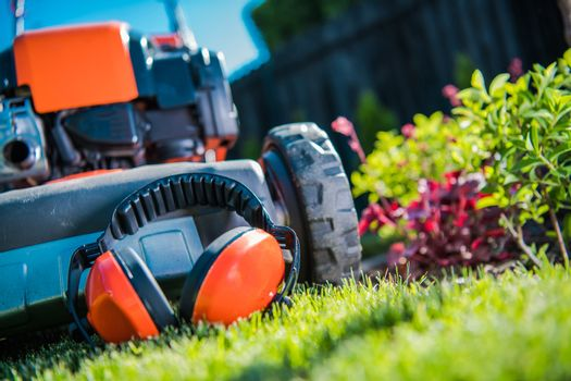 Hearing Protection in Garden