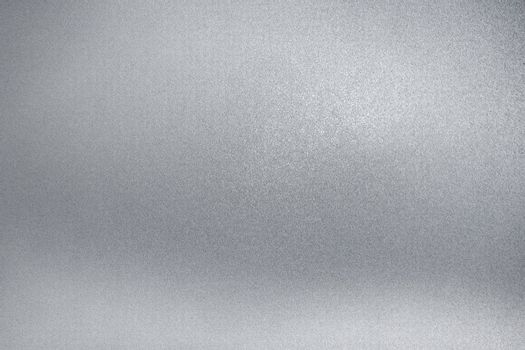 Light gray rough metal wall, abstract texture background