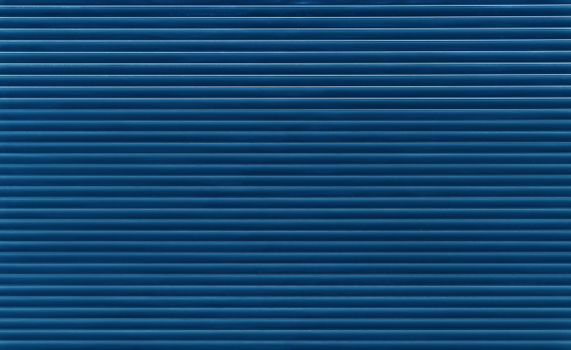 Indigo blue horizontal roller shutter blinds