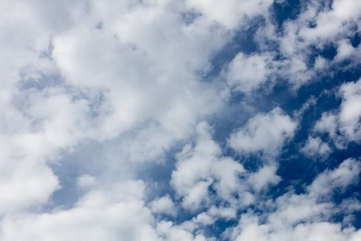 Blue sky with clouds summer mood background fine art high quality prints products fifty megapixels