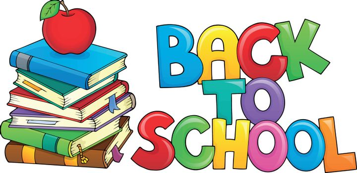 Back to school design 8 - eps10 vector illustration.