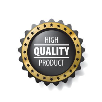 Best quality product vector sign on white background