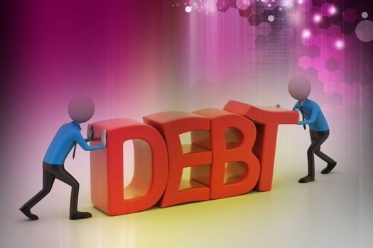 3d people try to avoid debt