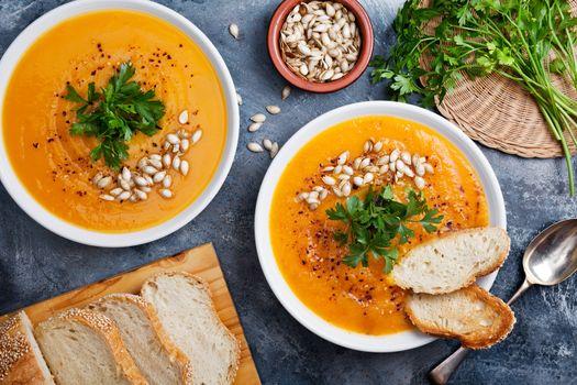 Spicy Organic Pumpkin Soup