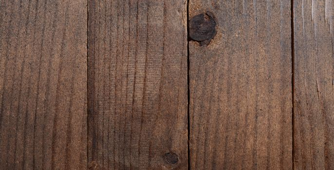 The fence from wooden boards closeup