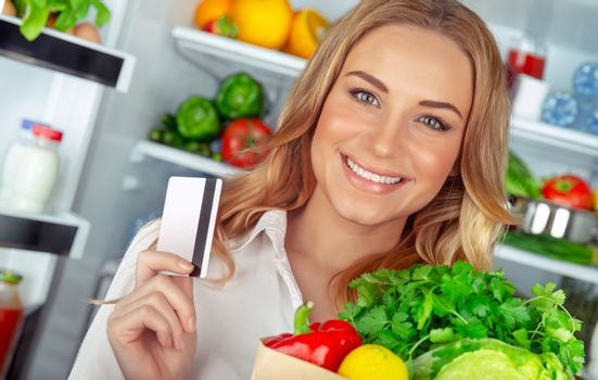 Buyer of a healthy food