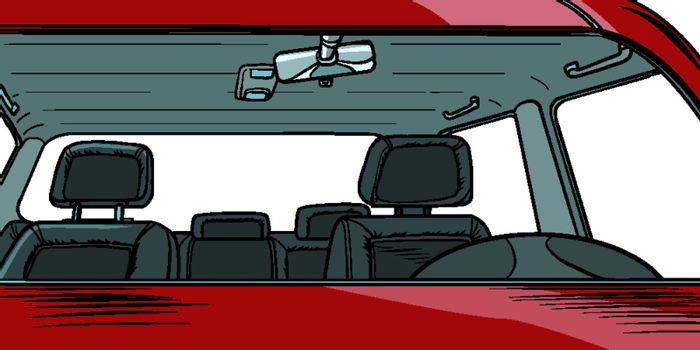 car interior without people